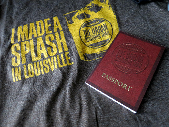 Urban Bourbon Trail t-shirt and Passport