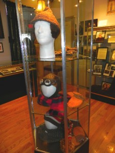 Hats used as costumes in the movie A Christmas Story