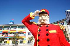 A salute from Legoland, Carlsbad, California