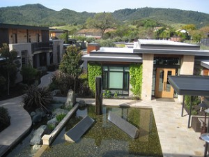 ecofriendly Bardessono-Courtyard