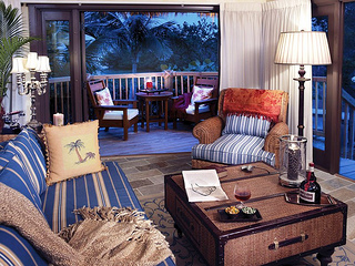 """Little Palm Island bungalow interior"""