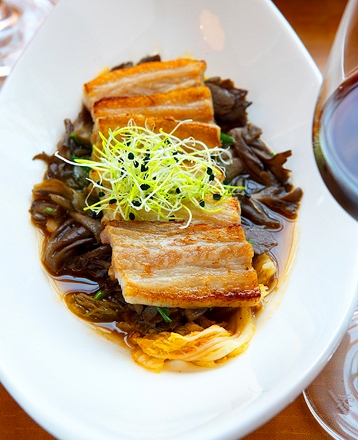 """o izakaya pork belly"""