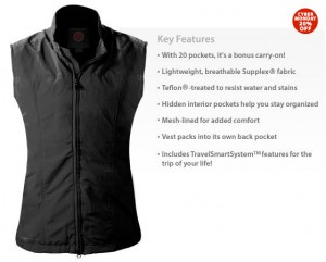Scottevest, travel apparel, Nancy D. Brown, travel