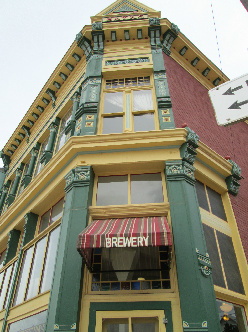 Philipsberg Brewery is located in the same building as The Broadway Hotel
