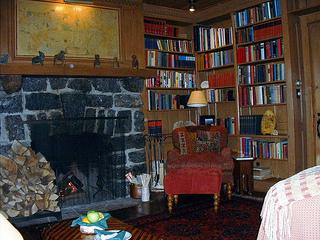 "Algonquin fireplace"""