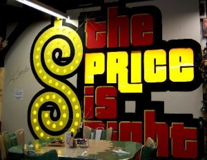 price is right sign
