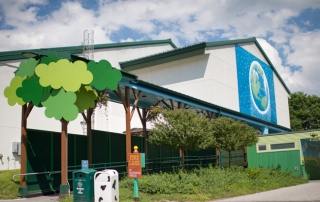 The Ben & Jerry's Factory in Vermont.