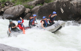 The Upper Gauley River, West Virginia- Class V Rapids