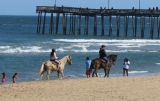 A Virginia Beach tour on horseback