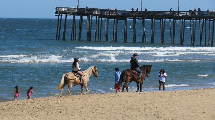 virginia beach by horse