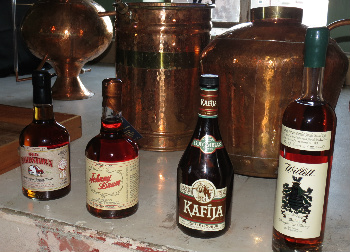 A few of Willett's bourbon offerings.