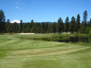 Woodlands Golf Course, 2nd hole, central oregon