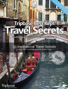 Tripbase Travel Secrets - free e-books for Charity: Water, Nancy D. Brown contributor