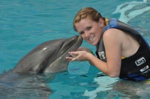 Experience the Dolphin Encounter Program at Sea Life Adventure Park in Honolulu, Hawaii