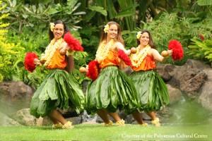Luau, hula, auana women, polynesian cultural center, Luxury Travel Writer nancy D. Brown