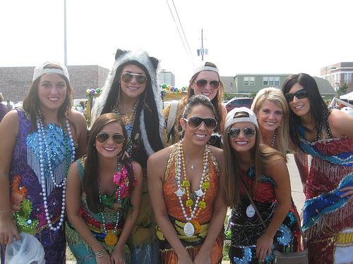 """Mississippi Gulf Coast Mardi Gras Maids"""