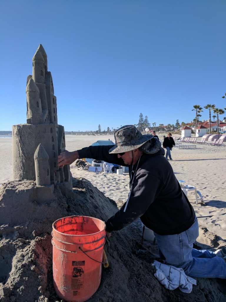 The Sandcastle Man
