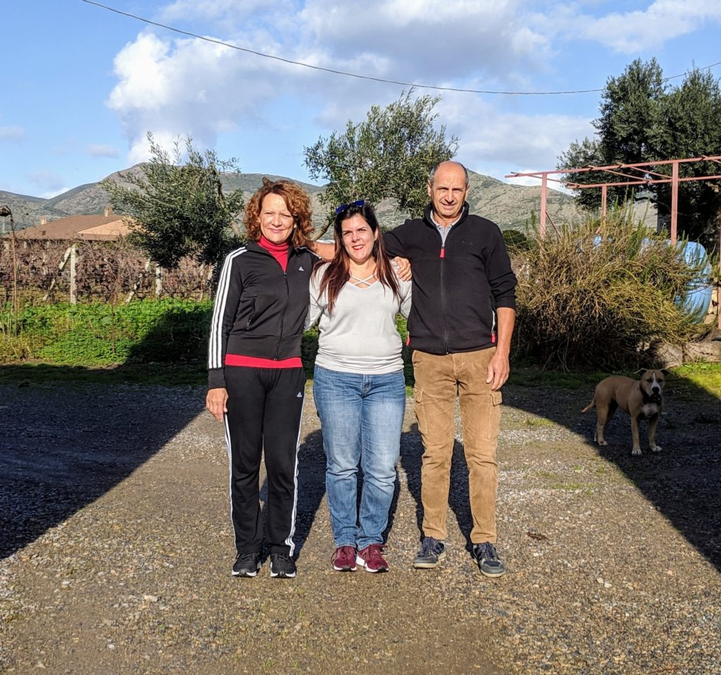 friends in Sardinia