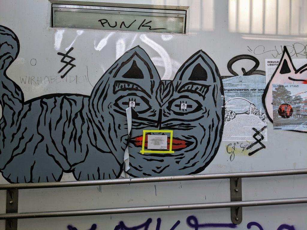 graffiti in Austria
