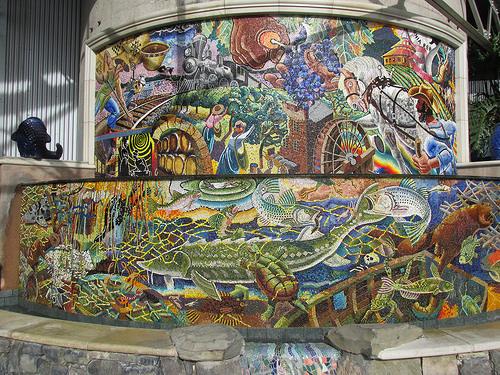 """""""Alan Shepp"""" mosaic"""