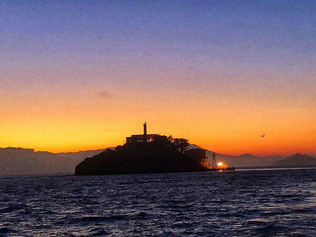 7 things about alcatraz night tour, alcatraz cruises, alcatraz island, alcatraz sunset, san francisco bay
