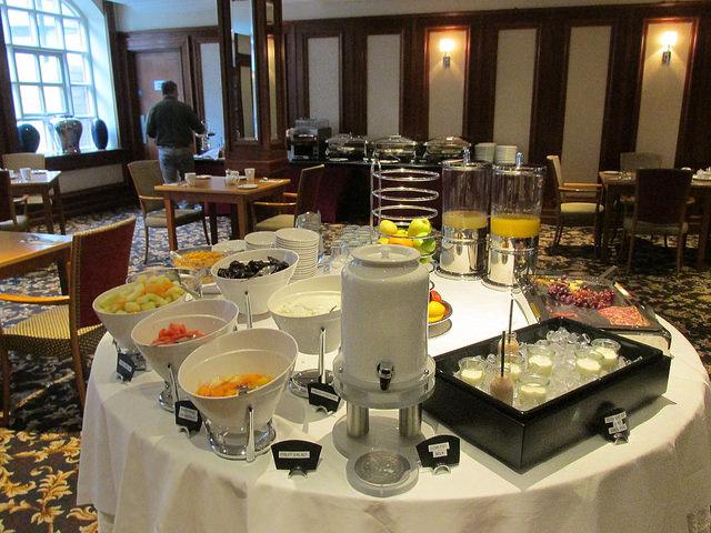 breakfast buffet, alexander hotel, dublin hotel, ireland hotel