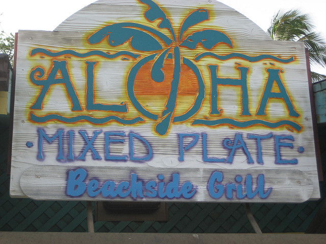 things to see and do in maui, aloha mixed plate, maui hawaii