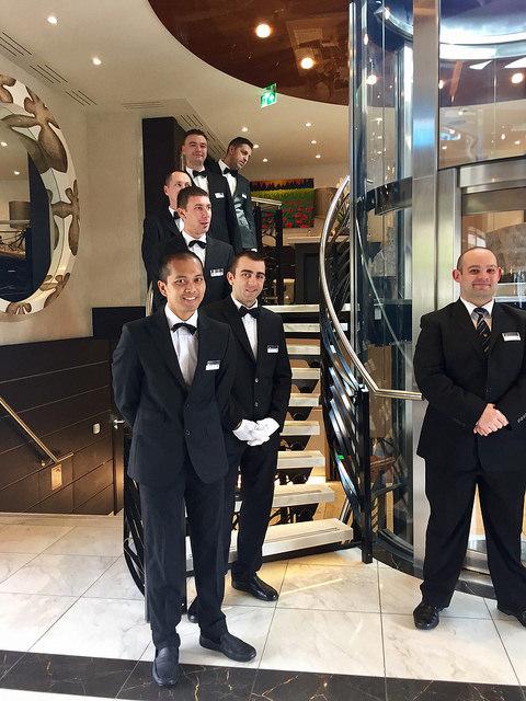 amastella crew, amawaterways luxury river cruise, danube river cruise staff, european river cruise crew