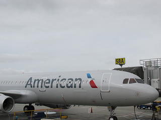 American Airlines, airbus, airplane