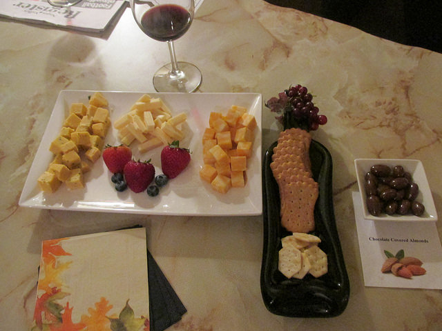 wine & cheese, arbor guest house, bed & breakfast, napa, california