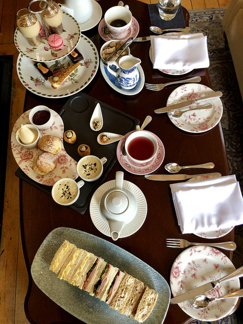 afternoon tea, ardtara country house hotel, irelands blue book, county londonderry, northern ireland