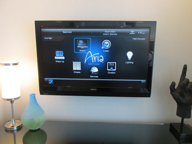 automated technology, crave technology, aria sky suites, hotel, las vegas, nevada