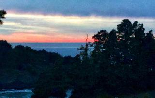 sunset, brewery gulch inn, smuggler's cove, mendocino, california coast, north coast