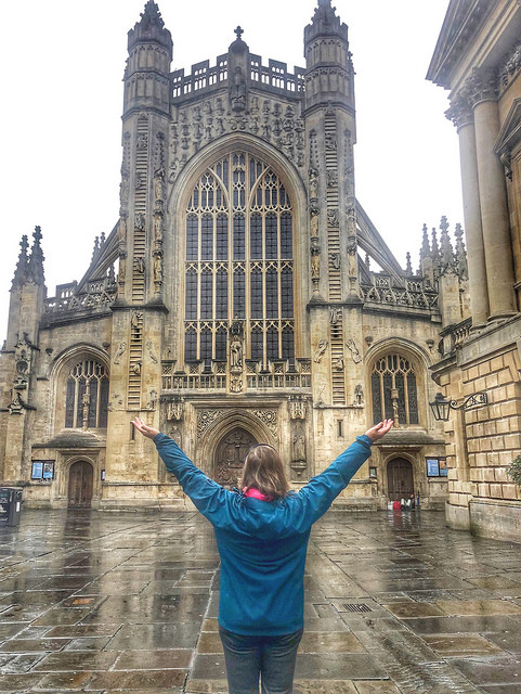 9 things to do in bath, guided walking tour of bath, bath abbey, nancy d brown bath abbey