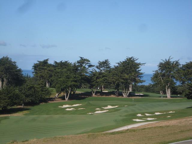 bayonet black horse golf course fairway, monterey bay, california