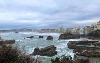 biarritz harbor, basque coast, france, nouvelle aquitaine, french riviera