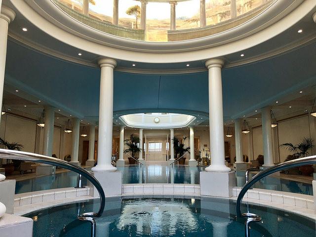 imperial spa, palace hotel, hotel du palais, biarritz, france, basque coast, nouvelle aquitaine