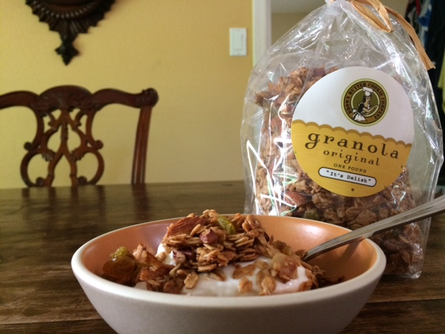 brown butter cookie company, brown butter cookie company granola, granola, cayucos