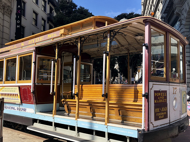 best things to do in san francisco, san francisco cable car, ride cable car