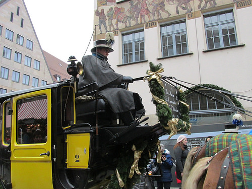 Nuremberg, Germany, horse carriage