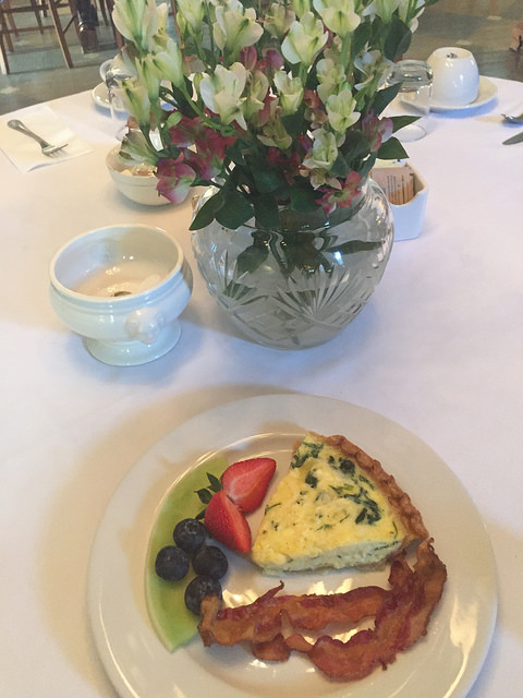quiche, breakfast, carriage house inn, bed & breakfast, aiken, south carolina