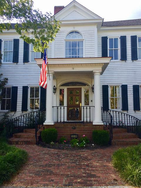 carriage house inn, bed & breakfast, historic hotel, aiken, south carolina