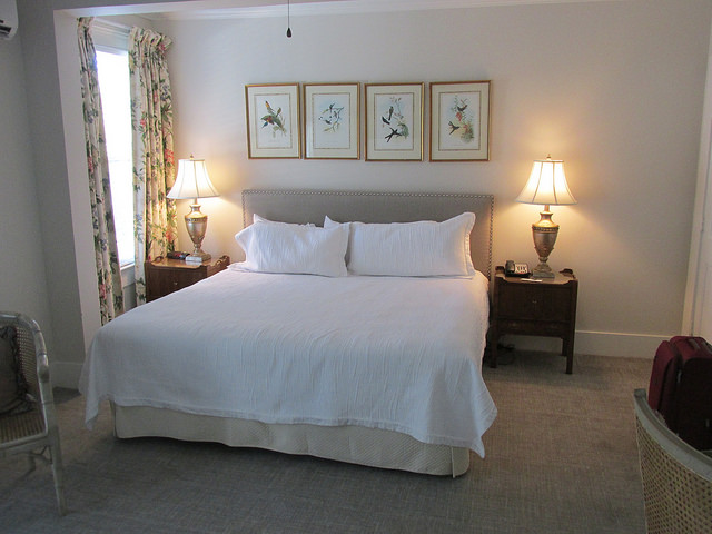 hotel room, carriage house inn, bed & breakfast, aiken, south carolina