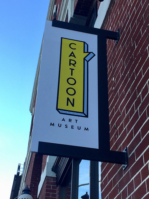 cartoon art museum, fishermans wharf, san francisco, california