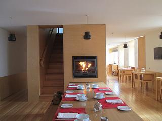 Casa das Penhas Douradas dining room