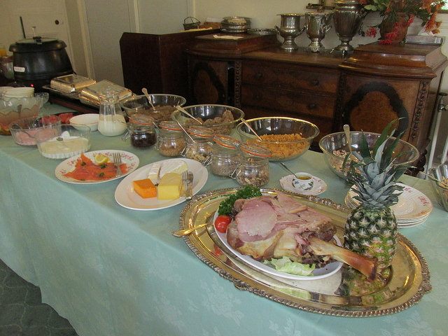 full irish breakfast, cashel house breakfast, cashel house full irish breakfast, irish breakfast buffet