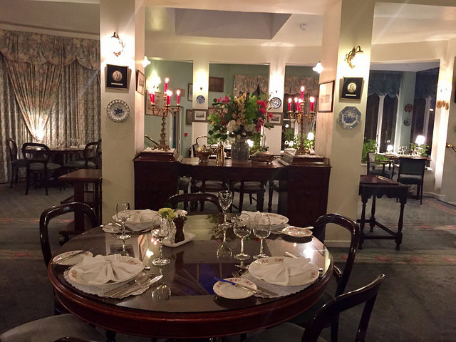 restaurant dining cashel house, cashel house, country manor house, connemara fine dining