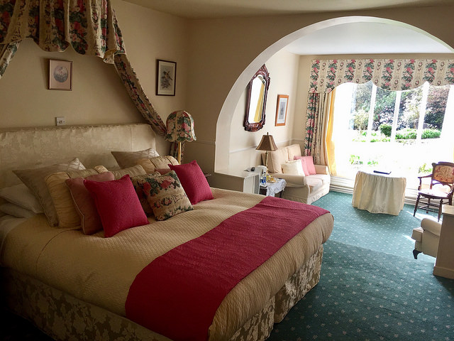cashel house suite, cashel house hotel, connemara hotel room, county galway hotel room, connemara, ireland