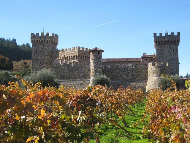 castello di amorosa, best thihngs to see and do in calistoga, things to do in calistoga