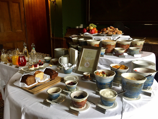 full irish breakfast, castle leslie breakfast, hotels in monaghan, irish castle hotel, castle leslie hotel, ireland